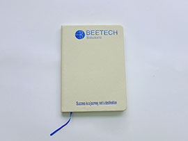 '.Sổ da dán gáy Beetech.'