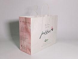 Túi giấy Kraft Trắng jubbie