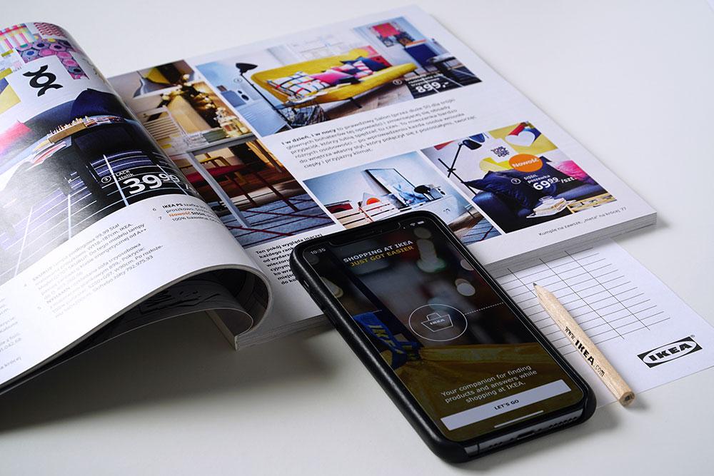 Quy trình thiết kế và in catalogue