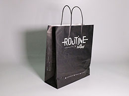 Túi giấy Kraft trắng Rojtine